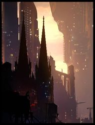 Thinker by Raphael-Lacoste