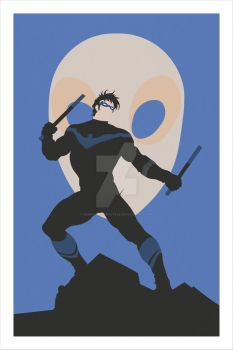 Nightwing Poster by MurphyMurphy1992