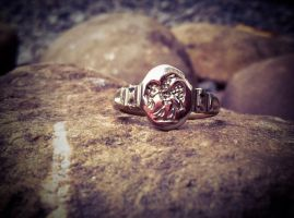 Roman signet ring by Dewfooter