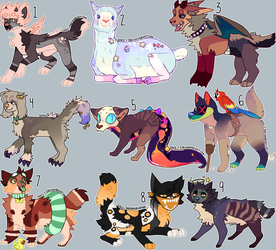 adopt collab (5/9 open) by SoxzTheWolf