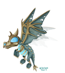 Frostwing whelp by Haalaesc