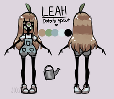 Leah [Ref Sheet] by j00j-png