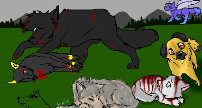 Iscribble: Wolves Collab by Sonic-Speed550