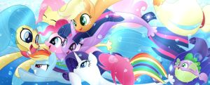 Seaponies!!! by PhoenixPeregrine