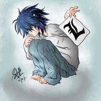 L death note by MiNieMouSh
