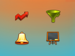 Icons for an app site by floydworx