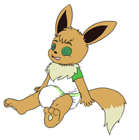 Gabriel the Eevee by GussySkunky