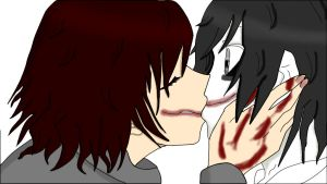Anne the killer kiss a Jeff(? by 6HB