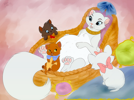 Waiting for new siblings to come by littlepolka