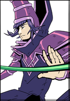 Dark Magician by Kampfkewob