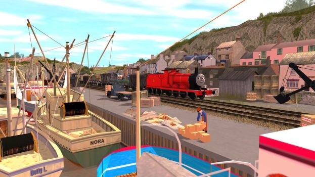 Down by the docks by Train4755