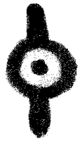 Spray Paint Unown I by Ocelorean