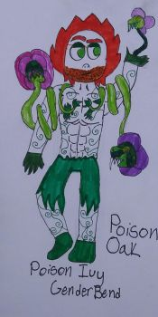 Poison Ivy Genderbend by CoolCordova