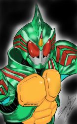 Kamen Rider Amazon Omega by isomy