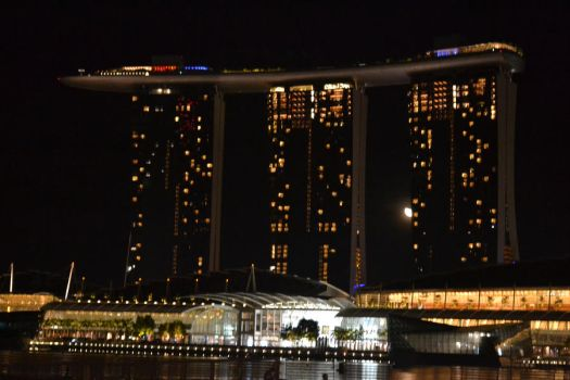 The marina bay sands by sharahime