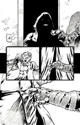 CANDLE MAN Page 3-2 - Inks 1 by KurtBelcher1