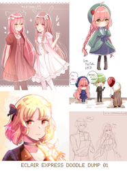 EE: Doodle Dump 01 by ayaring