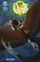 Oops Comic Adventure #4 Cover by Gingco