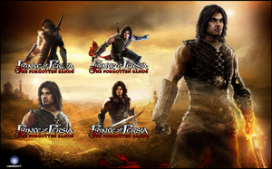 Prince of Persia The Forgotten Sands - Icon Pack by karim3adel