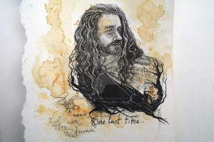 Thorin sketch by The-girl-in-Mirkwood