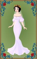 Disney's Snow White+Conceptual Wedding Dress by LadyAquanine73551