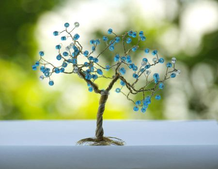 Tree of happiness - blue by Sizhiven