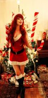 Candy Cane Miss Fortune - Merry Xmas! by TineMarieRiis