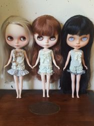 New adorable camisole and bloomer sets by debellespoupees