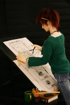 The Architect Student by PlatinumGirl