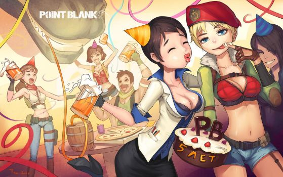 PointBlank 5 years by llaiii