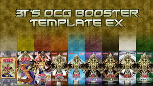 OCG Japanese Booster Pack Template EX *READ EDIT* by BT-YGO