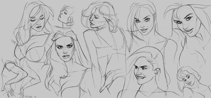 VS Sketches by Mr--Jack
