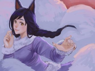 Ahri Chan by lypotatoes