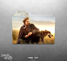 Dances with Wolves - Folder Icon by Naif1470