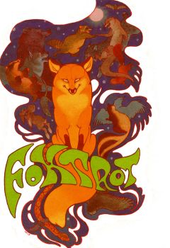 foxtrot poster by luve