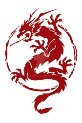 Chinese Dragon Logo by LastGambit