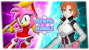 RR|Game Amy Rose vs. Nora Valkyrie by Vex2001