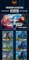 Street Fighter V - Karin Premium Color by Ztitus by Ztitus