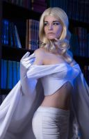 Marvel Comics.X-men Cosplay- Emma Frost (1) by Alex-Willow