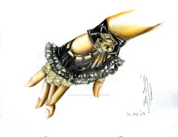 glove design 2010 by sergefashion