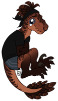 Cute raptor boyo by DShadou