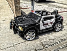 POLICE CAR in HDR by AthenaIce