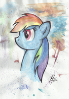 Rainbow Dash by MoonlightFL