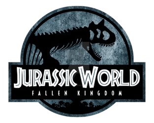 Logo Jurassic World Fallen Kingdom Carno old by OniPunisher