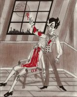 Sweeney Todd: the demon barber by MissPoe