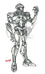 SP : Android (pencils) by emmshin