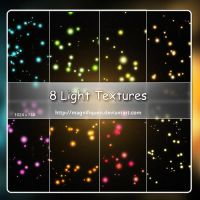 8 Large Light Textures - Pack I by MagnifiqueN