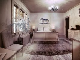 Bed and Breakfast (695nm Infrared) by KBeezie