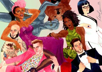 The Pride promo print by kevinwada