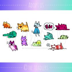 [OPEN] Supercat Doodle Adopts by toadlers